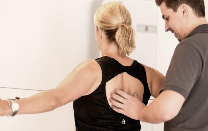 Physiotherapie geraetegestuetzte Krankengymnastik